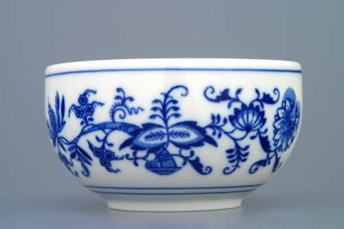 Cibulák miska hladká vysoká 11 cm cibulový porcelán, originálny cibulák Dubí 1. akosť