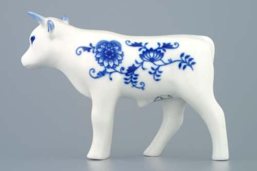 Cibulák volek 13 cm cibulový porcelán, originálny cibulák Dubí 1. akosť
