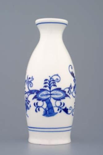 Cibulák nádobka na saké cibulový porcelán, originálny cibulák Dubí 1. akosť