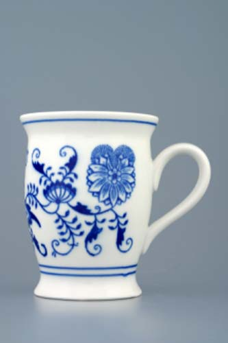 Cibulák hrnček Malis 0,30 l cibuľový porcelán, originálny cibuľák Dubí, 1. akosť