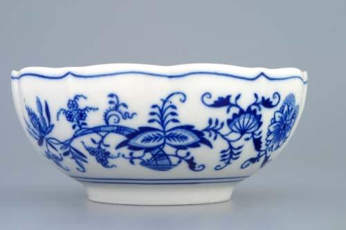 Cibulák šálka bujón bez ušiek 0,30 l cibulový porcelán, originálny cibulák Dubí 1. akosť