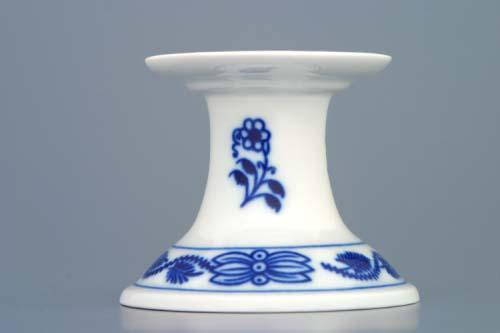 Cibulák svietnik 1991/1 bez uška 6 cm cibulový porcelán, originálny cibulák Dubí 1. akosť