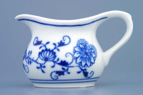 Cibulák konvička na šťavu 0,10 l cibulový porcelán, originálny cibulák Dubí 1. akosť