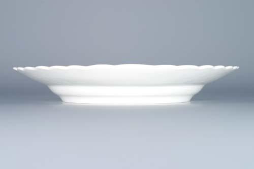 Cibulák tanier reliéfny 24 cm cibulový porcelán, originálny cibulák Dubí 1. akosť