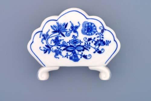 Cibulák stojan na obrúsky 10 cm cibulový porcelán, originálny cibulák Dubí 1. akosť