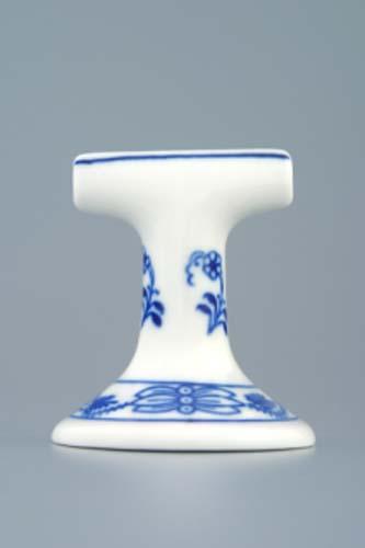Cibulák stojan na menovky 7 cm cibulový porcelán, originálny cibulák Dubí 1. akosť