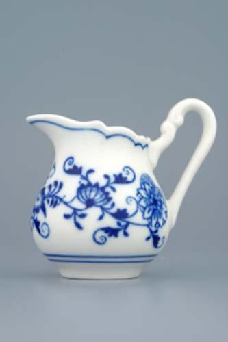 Cibulák mliekovka mini cibulový porcelán, originálny cibulák Dubí 1. akosť