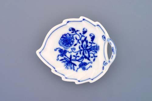 Cibulák misa list mini cibulový porcelán, originálny cibulák Dubí 1. akosť