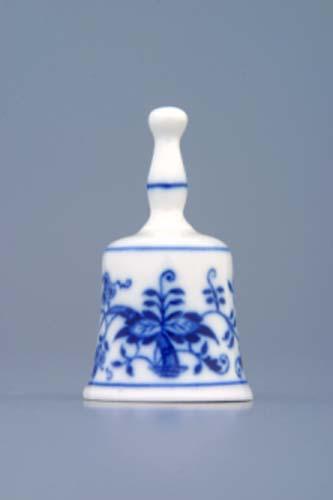 Cibulák zvonček mini cibulový porcelán, originálny cibulák Dubí