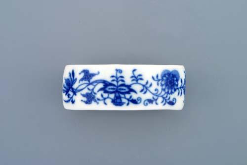 Cibulák krúžok na servítky, bez ruže x 4,5 x 3 cm cibulový porcelán, originálny cibulák Dubí 1. akosť