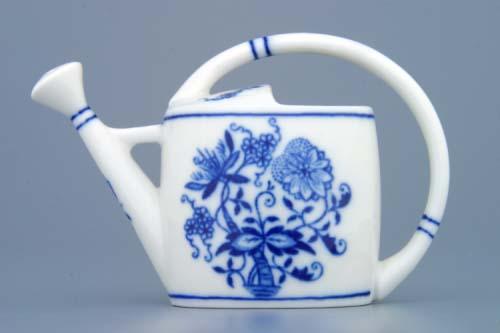 Cibulák kanvička záhradná, mini,cibulový porcelán, originálny cibulák Dubí, 1. akosť