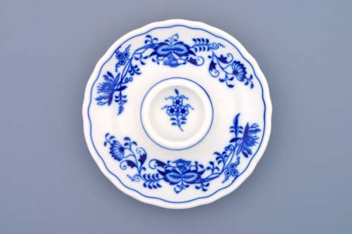 Cibulák kalíšok na vajcia nízky 13 cm cibulový porcelán, originálny cibulák Dubí