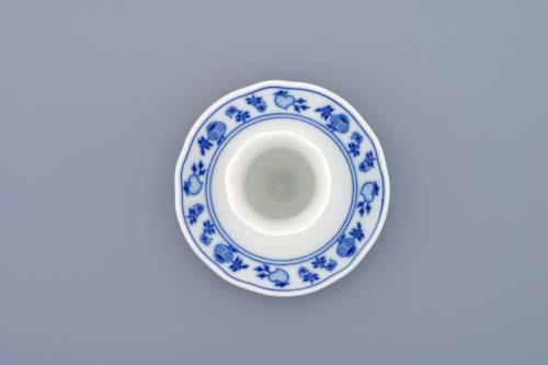Cibulák kalíšok na vajcia s podstavcom 5 cm cibulový porcelán, originálny porcelán Dubí, 1. akosť