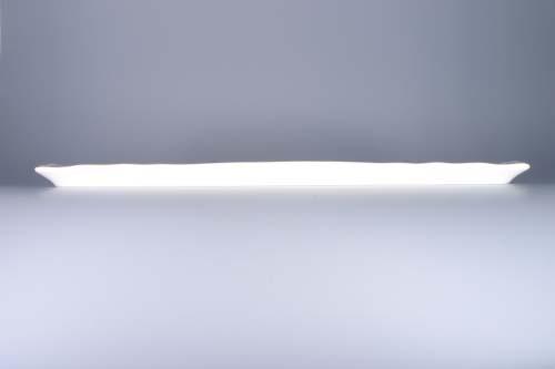Cibulak podnos štvorhranný 45 x 16 cm cibulový porcelán, originálny cibulák Dubí,1. akosť