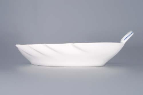 Cibulák misa list 22 cm cibulový porcelán, originálny cibulák Dubí 1. akosť