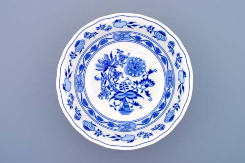 Cibulák misa kompótová vysoká 21 cm cibulový porcelán, originálny cibulák Dubí 1. akosť