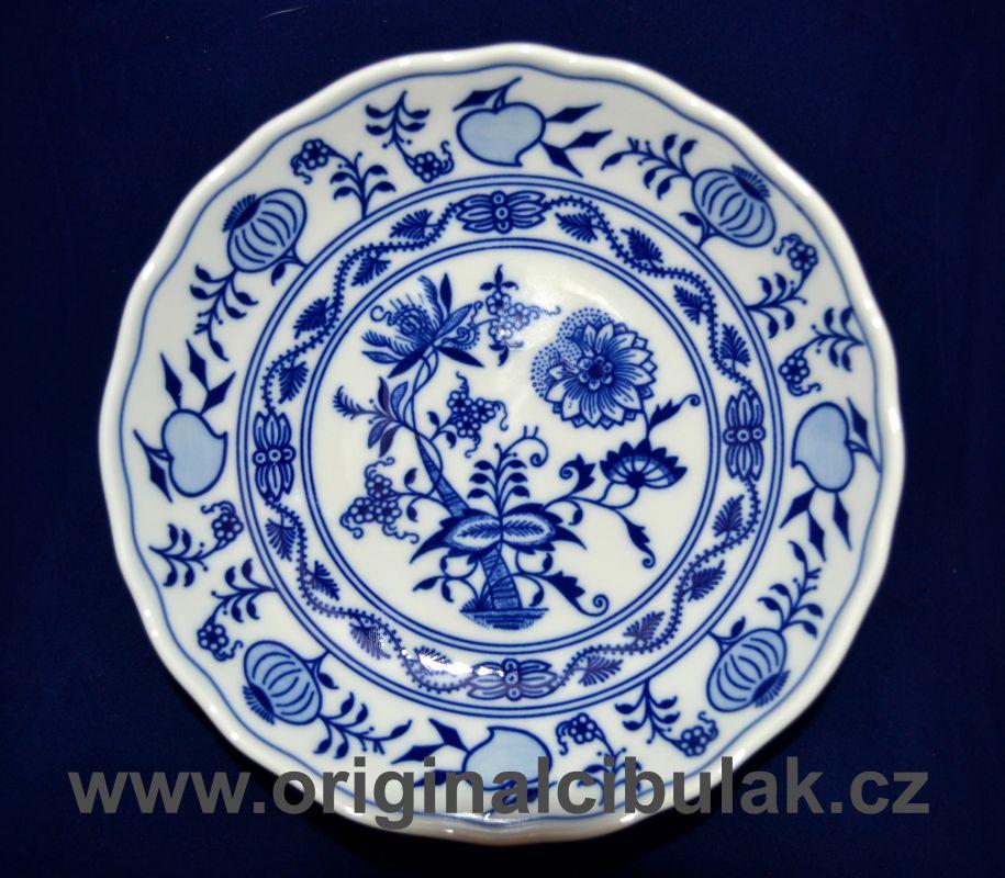 Cibulák misa kompótová 16 cm cibulový porcelán, originálny cibulák Dubí 1. akosť