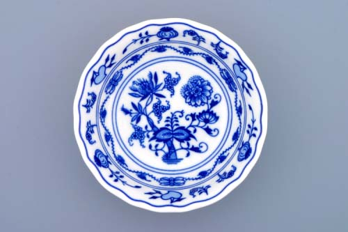 Cibulák miska kompótová vysoká 14 cm cibulový porcelán, originálny cibulák Dubí, 1. akosť
