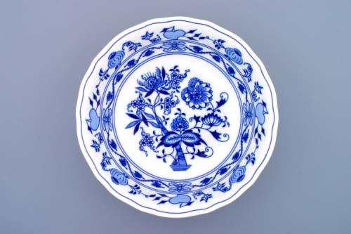 Cibulák misa guľatá hlboká 28 cm cibuľový porcelán, originálny cibuľák Dubí,1. akosť