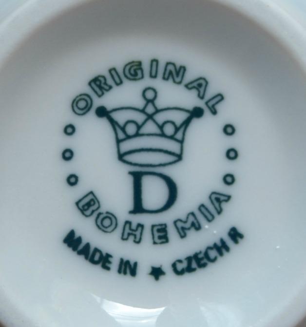 Cibulák šálka vysoká C 0,25 l cibulový porcelán, originálny cibulák Dubí 1. akosť