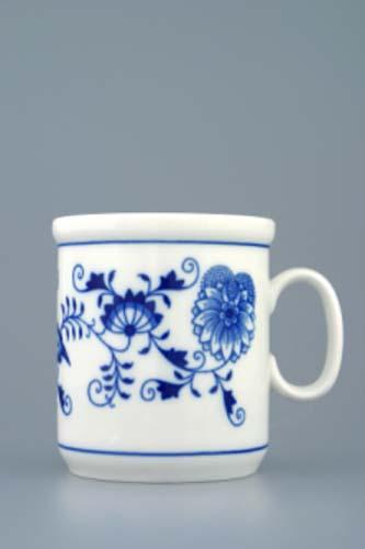 Cibulák hrnček Henry M 0,27 l cibuľový porcelán, originálny cibuľák Dubí, 1. akosť