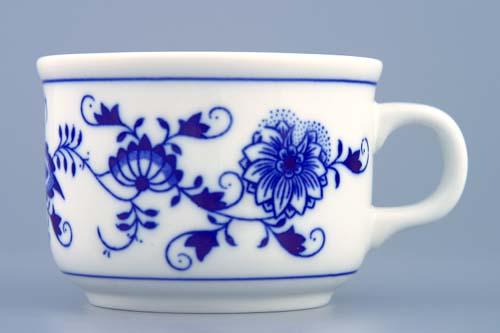 Cibulák šálka Ben M 0,23 l cibulový porcelán, originálny cibulák Dubí 1. akosť
