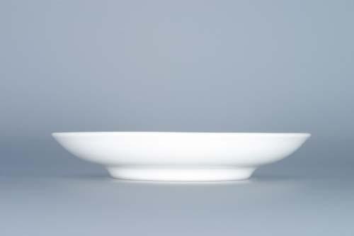 Cibulák podšálka Ben M (zrkadlová podšálka) 15,3 cm cibulový porcelán, originálny cibulák Dubí 1. akosť