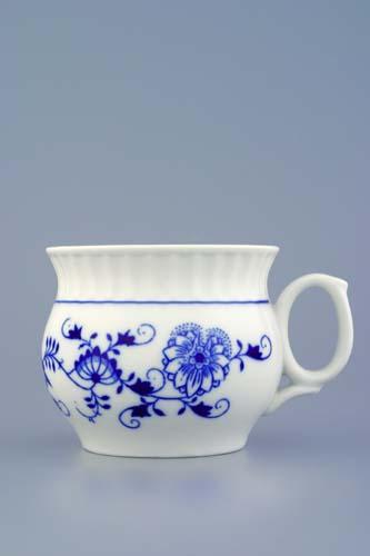 Cibulák hrnček Darume 0,29 l cibuľový porcelán, originálny cibuľák Dubí, 1. akosť