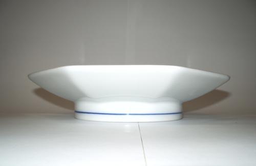 Cibulák tanier stolný Oktan / osemhranný 19,5 cm cibulový porcelán, originálny cibulák Dubí 1. akosť