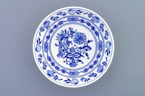 Cibulák misa kompótová hladká 21 cm cibulový porcelán, originálny cibulák Dubí 1. akosť