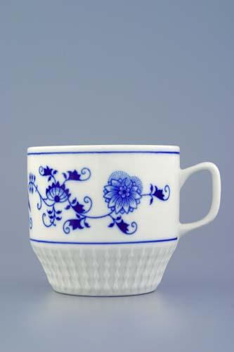 Cibulák hrnček Fuji 0,26 l cibuľový porcelán, originálny cibuľák Dubí, 1. akosť
