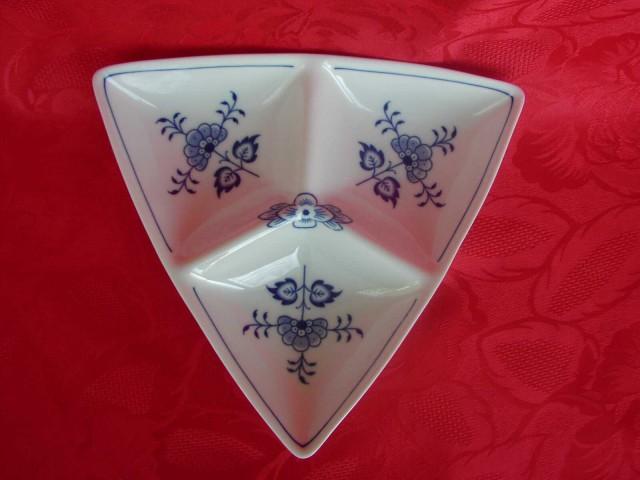 Cibulák miska Trina trojdielna č. 3 20,5 cm cibulový porcelán, originálny cibulák Dubí 1. akosť