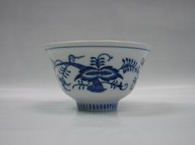 Cibulák miska Čajan 11,9 cm cibulový porcelán, originálny cibulák Dubí 1. akosť