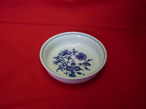 Cibulák misa guľatá, zapekacia 16,2 cm cibulový porcelán, originálny cibulák Dubí 1. akosť