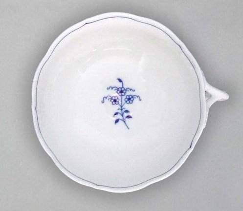 Cibulák šálka bujón s jedným uškom 0,30 l cibulový porcelán, originálny cibulák Dubí 1. akosť