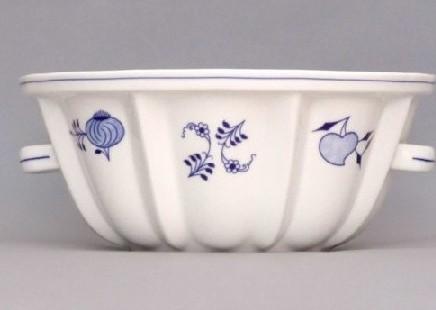 Cibulák forma na pečenie bábovka 27,2cm cibulový porcelán, originálny cibulák Dubí 1. akosť1.jakost'