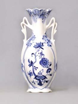 Cibulák váza secesná 11213 20,5 cm cibulový porcelán, originálny cibulák Dubí 1. akosť