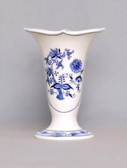 Cibulák váza Dux 505/3 20 cm cibulový porcelán, originálny cibulák Dubí 1. akosť
