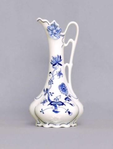 Cibulák váza - džbánok secesný 11214 21 cm cibulový porcelán, originálny cibulák Dubí 1. akosť
