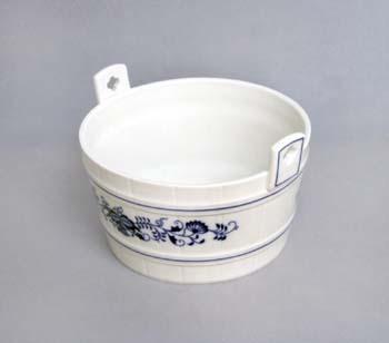 Cibulák dieža 16,3 cm cibulový porcelán, originálny cibulák Dubí, 1. akosť