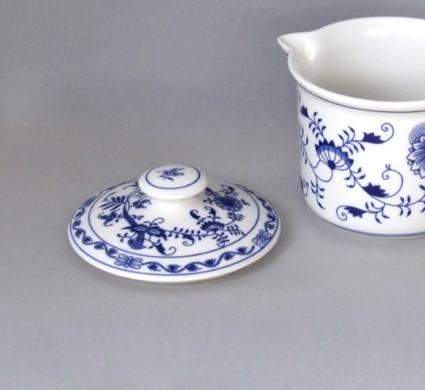 Cibulák viečko na hrnček Vařák s hubicou cibuľový porcelán, originálny cibuľák Dubí 1. akosť