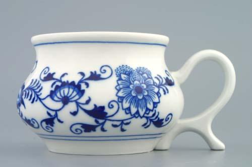 Cibulák hrnček Joe 0, 48 l cibuľový porcelán, originálny cibuľák Dubí, 1. akosť