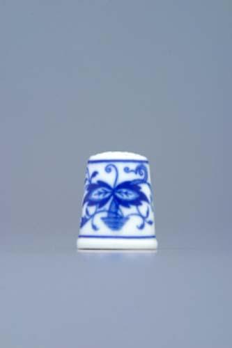 Cibulák náprstok 2 cm cibulový porcelán, originálny cibulák Dubí 1. akosť