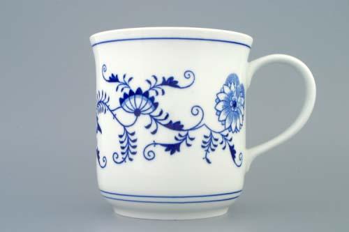 Cibulák hrnček Golem 1,5 l cibuľový porcelán, originálny cibuľák Dubí