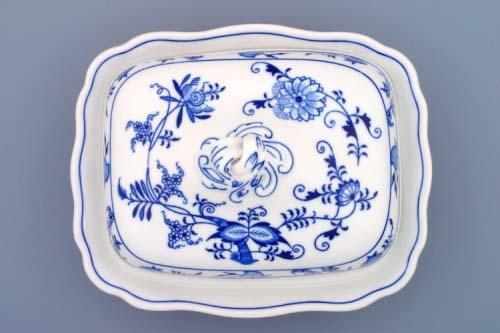 Cibulák misa ragout s vekom 0,40 l cibulový porcelán, originálny cibulák Dubí 1. akosť