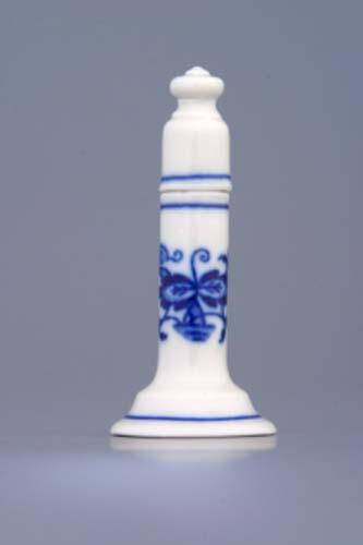 Cibulák jahelníček s viečkom 7 cm cibulový porcelán, originálny cibulák Dubí, 1. akosť