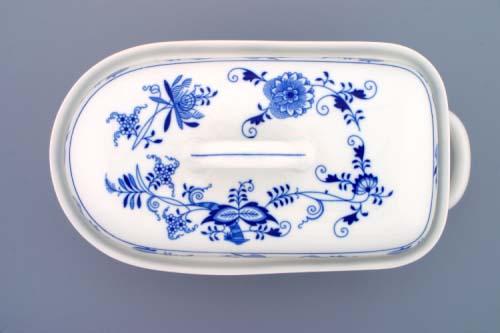 Cibulák forma na pečenie pekáč veľký s vekom 2,4 l cibulový porcelán, originálny cibulák Dubí