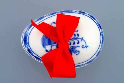 Cibulák vajíčko s prekvapením cibulový porcelán 9 cm originálny cibulák Dubí