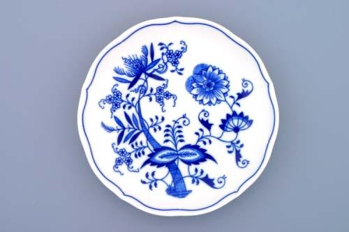 AKCIA -10% Cibulakšálka + podšálka bujón s 1 uškom 0,30 l cibuľový porcelán, originálny cibuľák Dubí 1. akosť