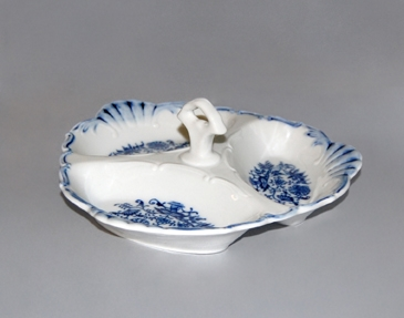 Cibulák kabaret Aida 20 cm cibulový porcelán, originálny porcelán Dubí